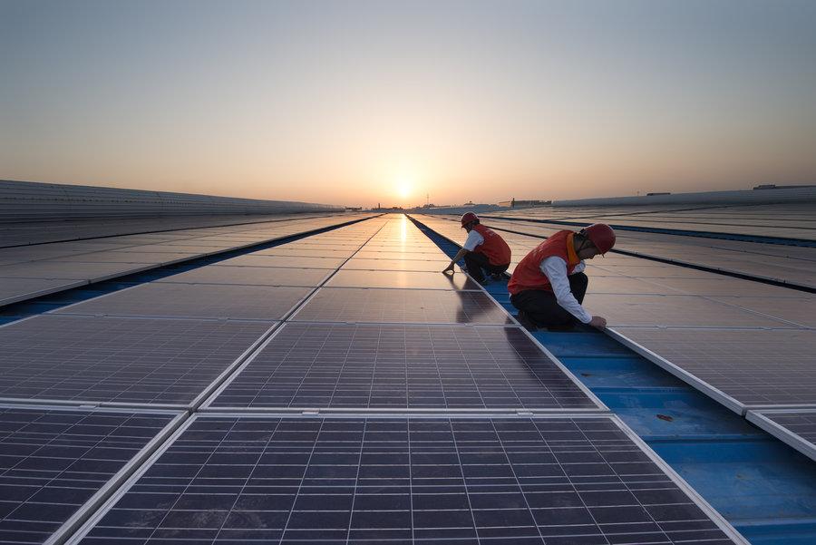>湖北罗田屋顶分布式发电项目